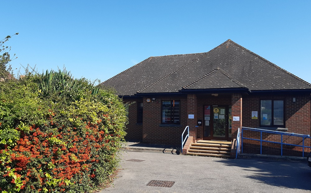 Outside of St Werburgh surgery
